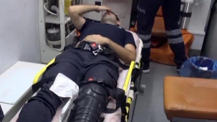 Yaralı polisler Malatya'da