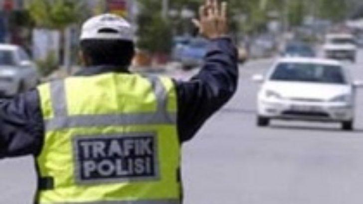 345 sürücüye 75 bin lira ceza