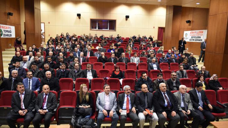 Malatya'da atık pil semineri