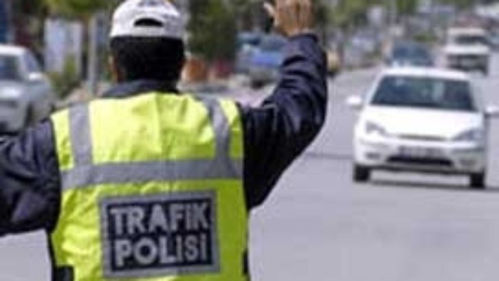 Trafik 177 araca ceza kesti