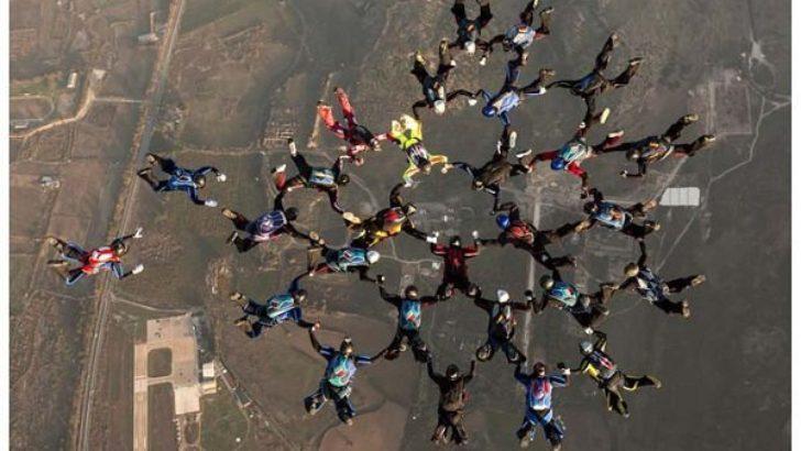 Paraşüt takımında Darendeli milli sporcu