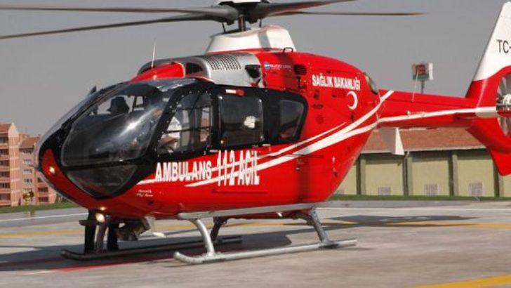 Hastaneye helikopter pisti