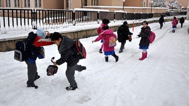 Malatya'da okullar 2 gün tatil edildi