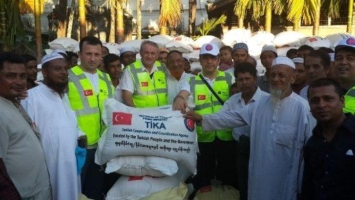 250 bin kişiye yardım