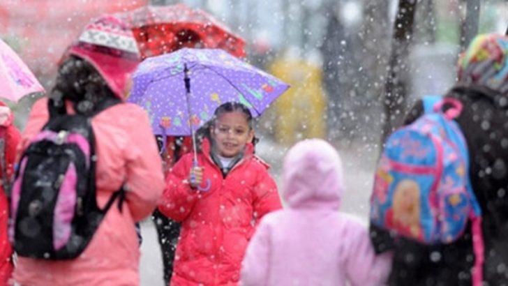 Malatya'da okullar tatil edildi