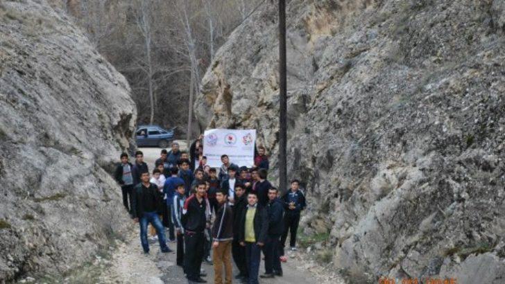 Malatya'da trekking yürüyüşü