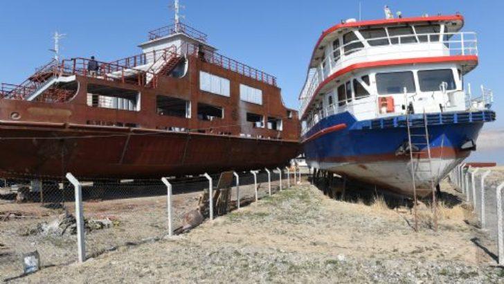 Büyükşehir tekneyi devraldı