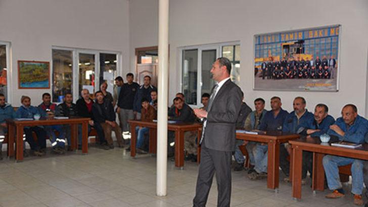 İş Güvenliği semineri verildi