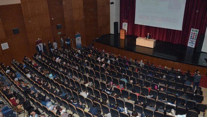 Bir Destandır Çanakkale konferansı verildi