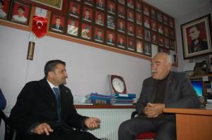 AK Parti Malatya Milletvekili aday adayı Ergül Zelyurtş-şehit ailleri  (3)