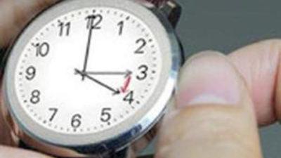 Saatinizi ileri almayı unutmayın..