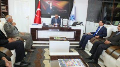 Bata, Başkan Gürkan'ı ziyaret etti