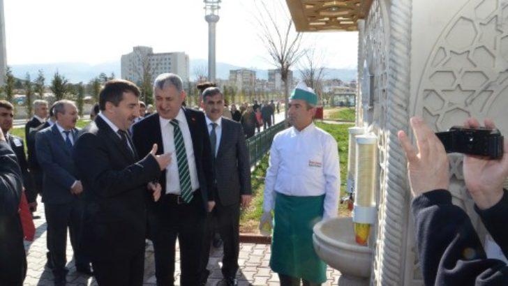 Yeşilyurt Belediyesi'nden bin kişiye sıcak çorba ikramı