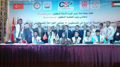 Türkiye-Filistin Cerrahi Kongresi bombaların gölgesinde başladı