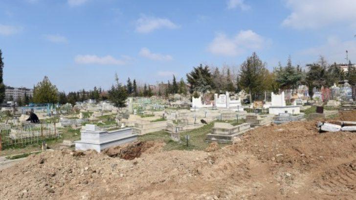 Kuyuönü mezarlığı taşınıyor..