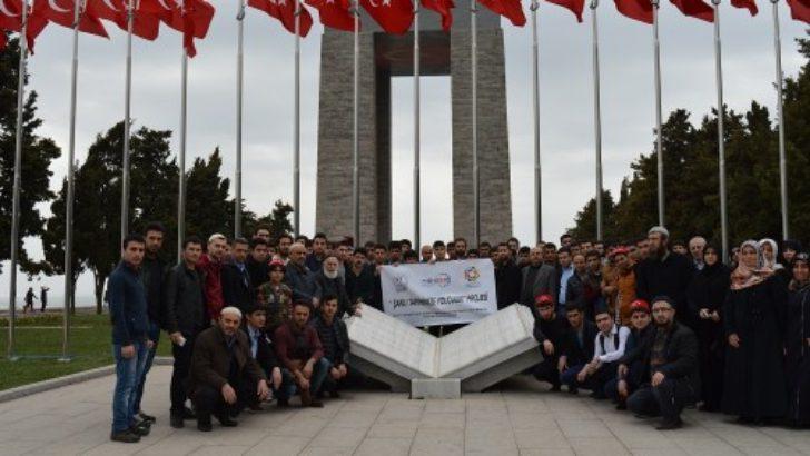 Malatyalı öğrenciler Çanakkale'yi gezdi