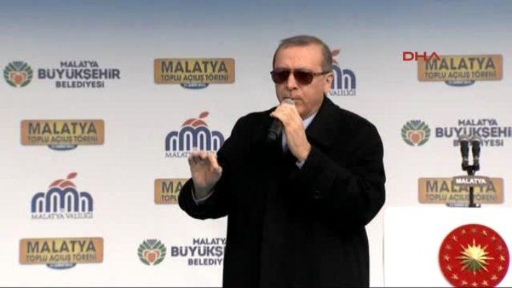 Cumhurbaşkanı Erdoğan,Malatya Toplu Açılış Töreni Konuşması