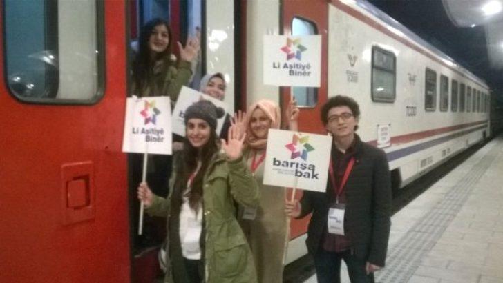 Barış Treni Malatya'da