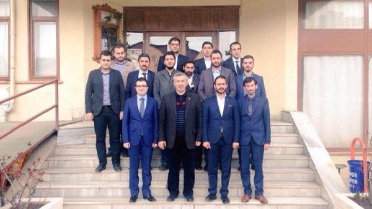 Aydoğan, Arapgiri ziyaret etti