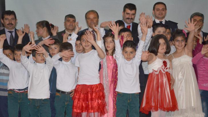Arguvan 23 Nisan'ı coşkuyla kutladı