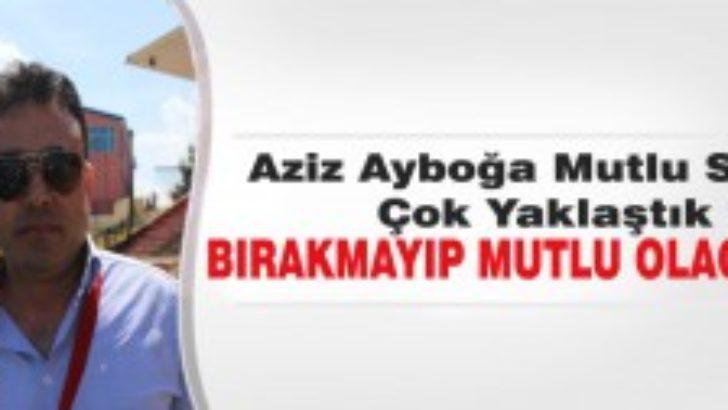 """""""İzmirde tur atlayıp gelen taraf olacağız"""""""
