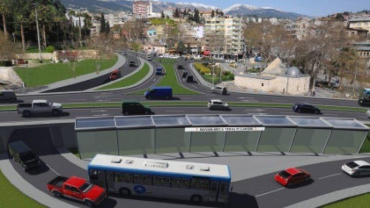 Trafik Tünel Kavşakla aşılacak