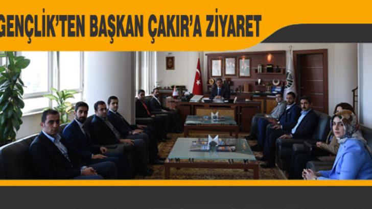 AK Gençlik'ten Başkan Çakır'a Ziyaret