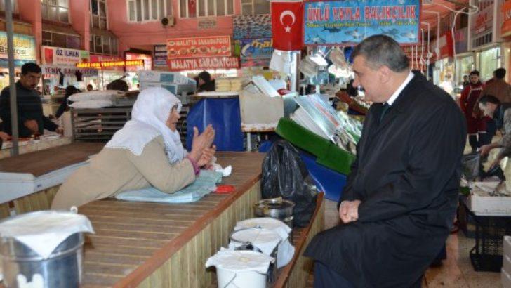 """Başkan Gürkan, """"Sorunları el birliği ile çözeceğiz"""""""