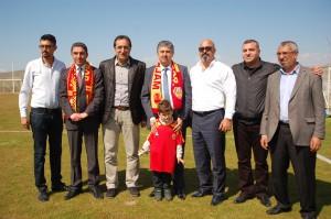 Yeni Malatyaspor Antreman Ziyareti (1)