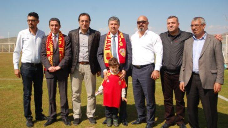 Porgalı, Yeni Malatyaspor'u ziyaret etti