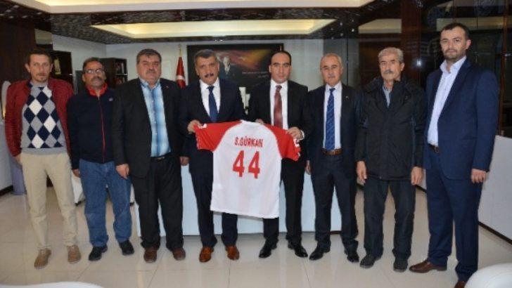 Battalgazi Belediyespor, Kahramanmaraş'a gitti