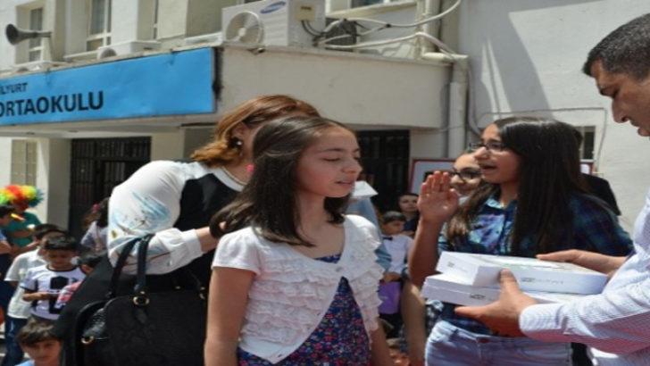 Yarışmada Sümer ortaokulu Türkiye birincisi oldu