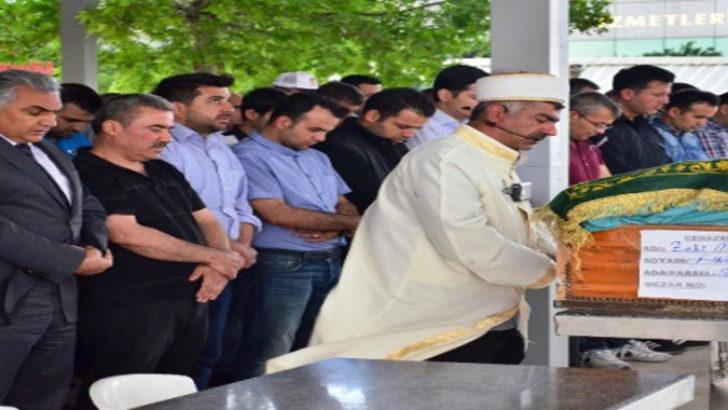İntihar eden Başkomiserin cenazesi kaldırıldı