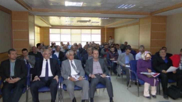 2015 yılı ekonomik yatırımları TSO üyelerine anlatıldı
