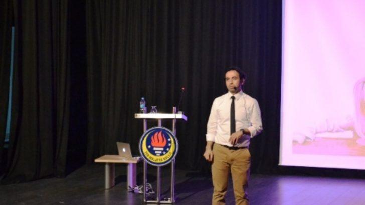 Gazeteci Yazar Dr. Özgür Bolat'dan Ted Kolejine ziyaret