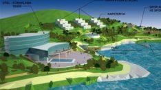 Kale su sporları merkezi projesi hayata geçiriliyor