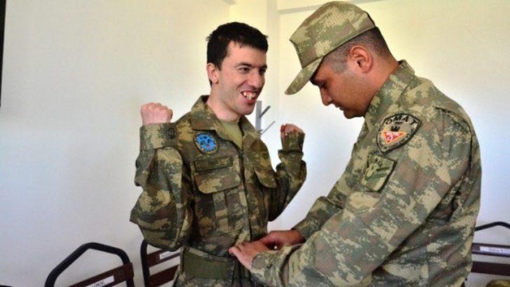 Malatya'da temsili askerlik uygulaması