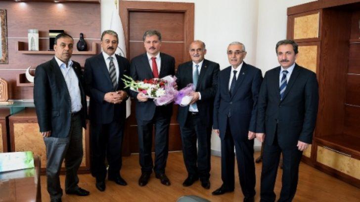 Ahilik komitesinden Başkan Çakır'a ziyaret