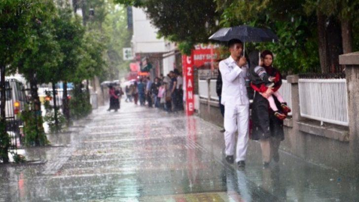 Yağış etkili oldu