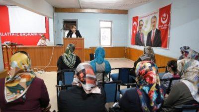 Altuntaş ; Türkiye'de kadın haklarına saygı gösterilmiyor