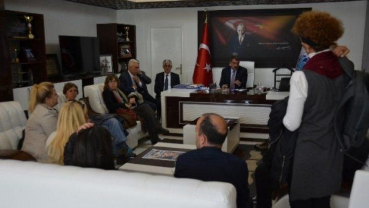 """Başkan Gürkan; """"Arslantepeyi dünyaya tanıtmalıyız"""""""