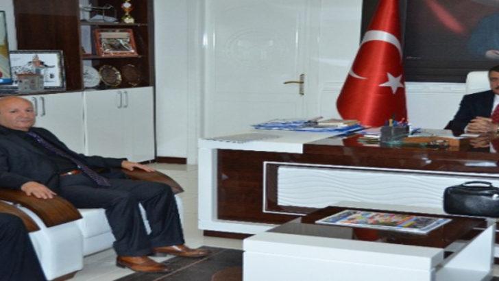 Emlakçılar odası başkanı Gürkan'ı ziyaret etti