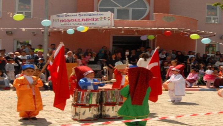 Çocuk şenliğini festivali yapıldı