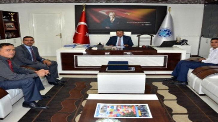Yönetimden Başkan Gürkan'a ziyaret