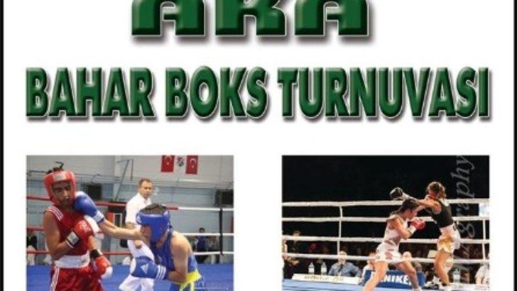 Aka Bahar Boks Turnuvası şöleni Ağın'da başlıyor