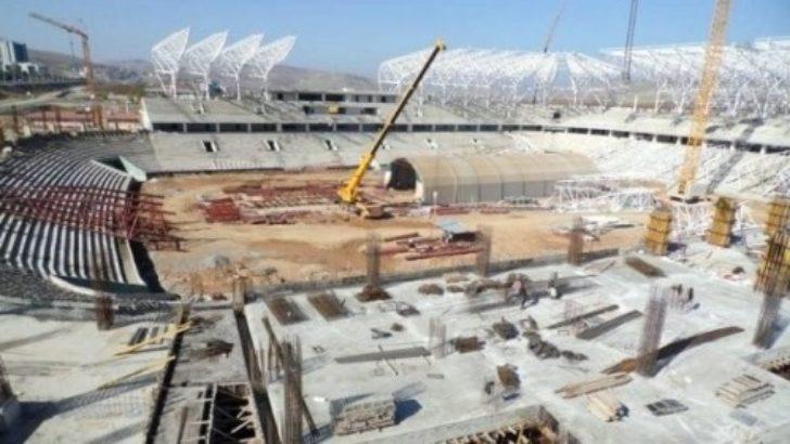 Malatya Arena yeni sezona yetişmeyecek