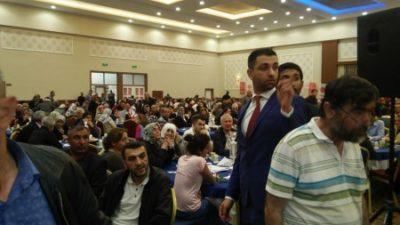 MHP'nin birlik gecesinde ayrımcılık yaptılar