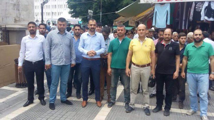 Malatya'da Gıyabi Cenaze Namazı Kılındı
