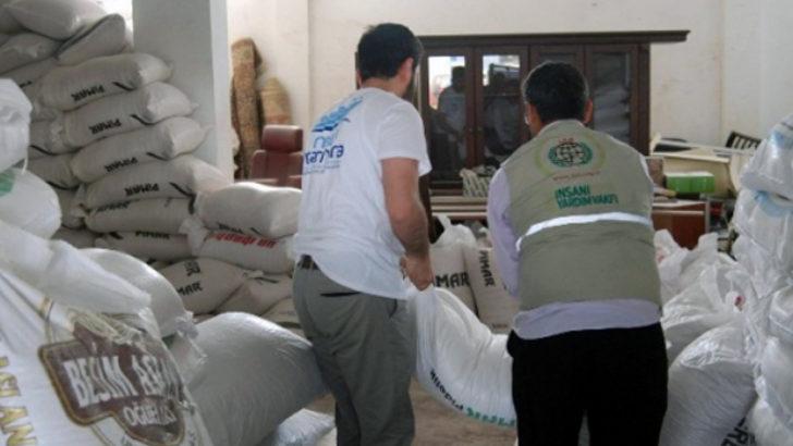Suriye'ye 1 tır dolusu yardım gönderildi