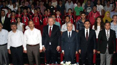 Milli Eğitim Müdürlüğü'nden yıl sonu töreni